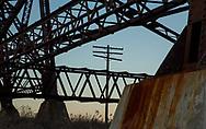 Codeline, Telegraph, Pole, Structure, Girders, Bridge, Viaduct, Moodna, Salisbury Mill, NY, New York,