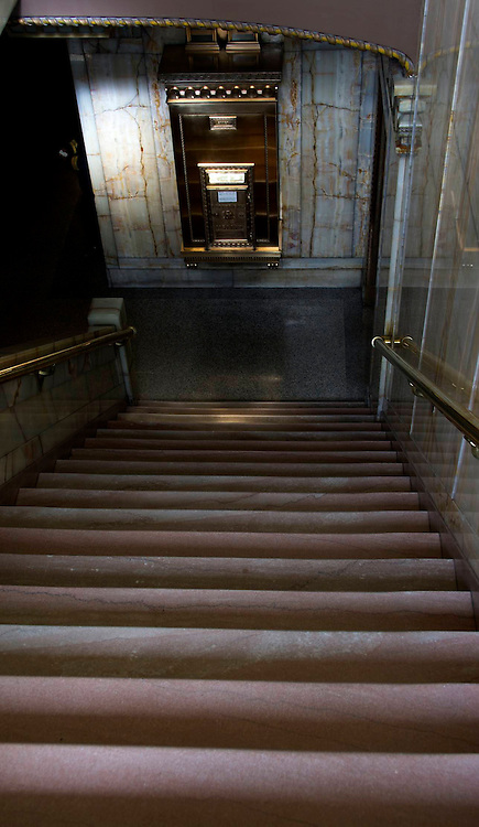 Smith Tower, Seattle, Stairway