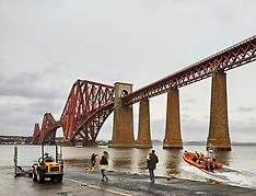 Lifeboat Launch, South Queensferry, 28 December 2019