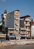 Vietnamese Tube Houses