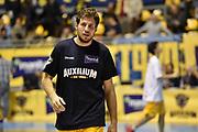 DESCRIZIONE : Torino Lega A 2015-16 Manital Torino - Vanoli Cremona<br /> GIOCATORE : Stefano Mancinelli<br /> CATEGORIA : <br /> SQUADRA : Manital Auxilium Torino<br /> EVENTO : Campionato Lega A 2015-2016<br /> GARA : Manital Torino - Vanoli Cremona<br /> DATA : 01/11/2015<br /> SPORT : Pallacanestro<br /> AUTORE : Agenzia Ciamillo-Castoria/M.Matta<br /> Galleria : Lega Basket A 2015-16<br /> Fotonotizia: Torino Lega A 2015-16 Manital Torino - Vanoli Cremona
