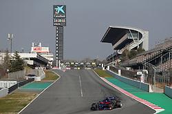 Toro Rosso Alexander Albon during day four of pre-season testing at the Circuit de Barcelona-Catalunya.