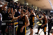 Kyzlink Tomas Alibegovic Amar Rullo Roberto<br /> Grissin Bon Reggio Emilia - Virtus Roma<br /> Lega Basket Serie A 2019/2020<br /> Reggio Emilia, 29/12/2019<br /> Foto A.Giberti / Ciamillo - Castoria