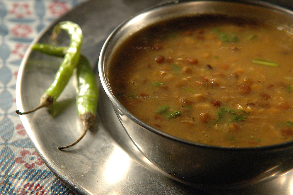 Kaali Dal - Black lentil soup ( Recipe available upon request )