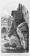 Robinson's Arch, Jerusalem from the book Picturesque Palestine, Sinai, and Egypt By  Colonel Wilson, Charles William, Sir, 1836-1905. Published in New York by D. Appleton and Company in 1881  with engravings in steel and wood from original Drawings by Harry Fenn and J. D. Woodward Volume 1