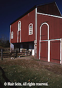 German bank barn, late 18th century, Daniel Boone's homestead, Berks Co., PA Daniel Boone Homestead, Berks Co., PA