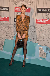 Frankie Herbert at the Fabulous Fund Fair in aid of Natalia Vodianova's Naked Heart Foundation in association with Luisaviaroma held at The Round House, Camden, London England. 18 February 2019.