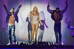 © Licensed to London News Pictures. 23/03/2016. US artist MARIAH CAREY performs at the O2 venue on the last leg of her UK tour.  Please note this photo image  is not to be used for merchandise. London, UK. Photo credit: Ray Tang/LNP