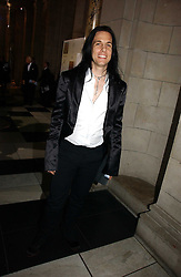 Designer TODD LYNN at the British Fashion Awards 2006 sponsored by Swarovski held at the V&A Museum, Cromwell Road, London SW7 on 2nd November 2006.<br /><br />NON EXCLUSIVE - WORLD RIGHTS