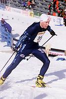 Langrenn - Junior NM Stafett - Holmenkollen 3. mars 2002 -  Ole Henrik Heen Moe, Fjellblom. (Foto: Andreas Fadum, Digitalsport)
