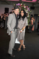 PAUL SIMONON and SERENA REES at the opening of 'The House of Viktor & Rolf' an exhibtion of designs by Viktor & Rolf held at The Barbican Art Gallery, Silk Sytreet, London on 17th June 2008.<br /><br />NON EXCLUSIVE - WORLD RIGHTS