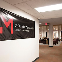 McKinley Academy occupies the first floor of Calvin Hall on the University of New Mexico-Gallup campus.