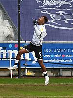 Football - 2020 / 2021 Sky Bet Championship - Swansea City vs Barnsley - Liberty Stadium<br /> <br /> Jamal Lowe of Swansea celebrates scoring his team's first goal<br /> <br /> COLORSPORT/WINSTON BYNORTH