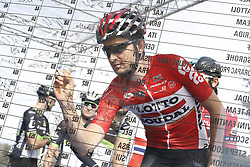 March 10, 2017 - Montalto Di Castro, ITALY - Belgian Tiesj Benoot of Lotto Soudal pictured during the third stage of the 51st edition of the Tirreno-Adriatico cycling race,204 km from Monterotondo Marittimo to Montalto di Castro, Italy, Friday 10 March 2017. ..BELGA PHOTO YUZURU SUNADA (Credit Image: © Yuzuru Sunada/Belga via ZUMA Press)