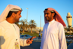 O Aeroporto Internacioal de Abu Dhabi (árabe: مطار أبو ظبي الدولي) (IATA: AUH, ICAO: OMAA) é um dos aeroportos com mais rápido crescimento no mundo em termos de passageiros (34% : 2008), novas Linhas aéreas, e desenvolvimento das infra-estruturas. FOTO: Jefferson Bernardes/Preview.com