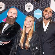 NLD/Rotterdam/20161106 - MTV EMA's 2016, Edson Da Graca, Gaby Blaaser en Joffrey Breeuwer