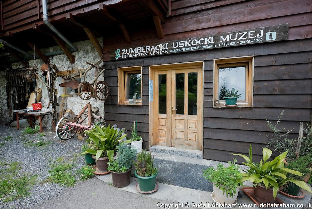Uskok Museum, in the village of Stojdraga, Zumberak nature park, Croatia