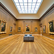The National Gallery of Art is an art museum, located on the National Mall in Washington, D.C. The museum was established in 1938 by the United States Congress, with funds for construction and a substantial art collection donated by Andrew W. Mellon plus major art works donated by Lessing J. Rosenwald, Italian art contributions from Samuel Henry Kress, and more than 2,000 sculptures, paintings, pieces of decorative art, and porcelains from Joseph E. Widener. As a result of bequests such as these, the National Gallery today houses one of the finest collections of Western painting and sculpture in the world.