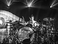 Arnar Rósenkranz Hilmarsson of Icelandic indie-rock band Of Monsters and Men at Iceland Airwaves