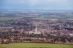 File photo dated 13/02/14 of the city of Salisbury, which has been named the best place to live in the UK in The Sunday Times 2019 list.