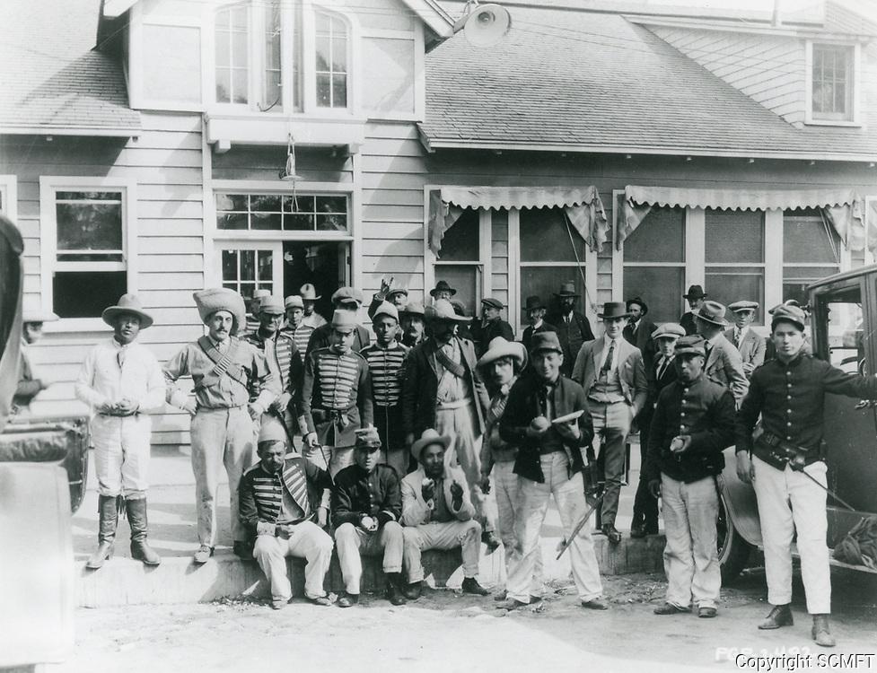 1922 Actors at Famous Players Lasky Studios