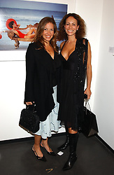 Left to right, EMILY CASH who was married to tennis player Pat Cash and ANDREA DELLAL at a party to celebrate the opening of an exhibition of photographs by the late Norman Parkinson held at Hamiltons gallery, 13 Carlos Place, London W1 on 14th September 2004.<br /><br />NON EXCLUSIVE - WORLD RIGHTS
