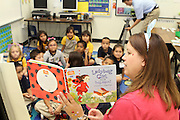Read for the Record at Barrick Elementary