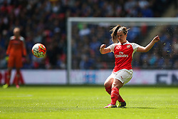 Emma Mitchell of Arsenal Ladies - Mandatory byline: Jason Brown/JMP - 14/05/2016 - FOOTBALL - Wembley Stadium - London, England - Arsenal Ladies v Chelsea Ladies - SSE Women's FA Cup