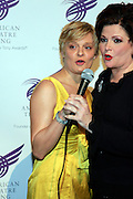 """Martha Plimpton and Faith Prince at The American Theater Wing's Annual Spring Gala Honoring Jerry Herman and Visa INC...The American Theatre Wing is best known as the creator of the Antoinette Perry """"Tony"""" Awards, which it presents annually with the Brodway League. The Wing's other activities, dedicated to recognizing excellence and supporting eductaion in theatre."""