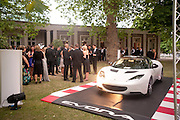 The Grand Prix Ball, before the Formula One,<br /> British Grand Prix at Silverstone,The Hurlingham Club, London. 7 July 2010. -DO NOT ARCHIVE-© Copyright Photograph by Dafydd Jones. 248 Clapham Rd. London SW9 0PZ. Tel 0207 820 0771. www.dafjones.com.