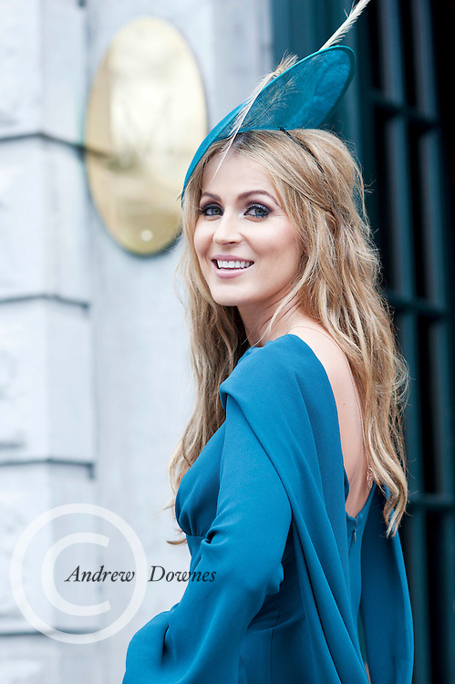 Mary Lee Gort at the Hotel Meyrick Most Stylish Lady event on ladies day of The Galway Races. Photo:Andrew Downes