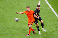 Daley Blind of the Netherlands, Michael Gregoritsch of Austria during the UEFA Euro 2020, Group C football match between Netherlands and Austria on June 17, 2021 at the Johan Cruijff ArenA in Amsterdam, Netherlands - Photo Marcel ter Bals / Orange Pictures / ProSportsImages / DPPI