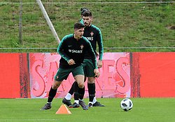 March 20, 2018 - Na - Oeiras, 03/20/2018 - The National Team AA trained this morning with a view to preparing for the 2018 World Cup in the City of Soccer in Oeiras. André Silva  (Credit Image: © Atlantico Press via ZUMA Wire)