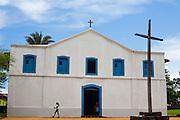 Chapada dos Guimaraes_MT, Brasil...Igreja de Santana do Sacramento na Chapada dos Guimaraes no estado do Mato Grosso...Santana do Sacramento church in Chapada dos Guimaraes in the state of Mato Grosso...Foto: JOAO MARCOS ROSA  /NITRO..