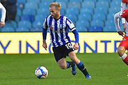 Barry Bannan during the EFL Sky Bet Championship match between Sheffield Wednesday and Millwall at Hillsborough, Sheffield, England on 7 November 2020.