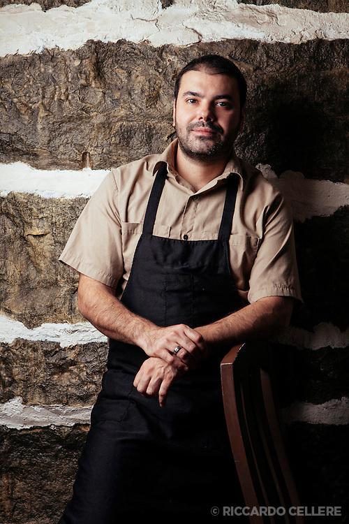 Portrait photography. Chef Marco Santos. 2012.