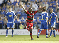 Photo: Aidan Ellis.<br /> Leicester City v Queens Park Rangers. Coca Cola Championship. 15/09/2007.Q<br /> QPR's Mikele Leigertwood celebrates scoring the equaliser