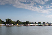 Plovdiv BULGARIA. 2017 FISA. Rowing World U23 Championships. <br /> <br /> Wednesday. AM, general Views, Course, Boat Area<br /> 08:40:37  Wednesday  19.07.17   <br /> <br /> [Mandatory Credit. Peter SPURRIER/Intersport Images].