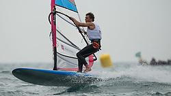31.07.2012, Bucht von Weymouth, GBR, Olympia 2012, Windsurfen, im Bild RS:X Men, Miarczynski Przemyslaw (POL) . EXPA Pictures © 2012, PhotoCredit: EXPA/ Juerg Kaufmann ***** ATTENTION for AUT, CRO, GER, FIN, NOR, NED, POL, SLO and SWE ONLY!