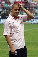 Fotball<br /> Serie A Italia<br /> Foto: Graffiti/Digitalsport<br /> NORWAY ONLY<br /> <br /> Livorno 22/5/2005 Campionato Italiano Serie A <br /> Livorno Juventus 2-2<br /> <br /> Juventus Player Fabio Cannavaro before the match