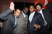 l to r: Mark Nivet, Dwayne Rivers, Chauncy Hamill, Keith Price at The National CARES Mentoring Movement Gala held at ESPACE on December 2, 2008 in NYC..National CARES is a mentor-recruitment movement that works ti fill the pipeline of youth-supporting organizations throughout the country with mentors. Its mission is to save a generation by outting a caring adult in the life of every at-risk child and those who have already fallen in peril.