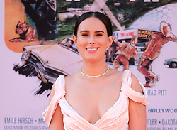Once Upon A Time In Hollywood Premiere - Los Angeles. 22 Jul 2019 Pictured: Rumer Willis. Photo credit: Jen Lowery / MEGA TheMegaAgency.com +1 888 505 6342