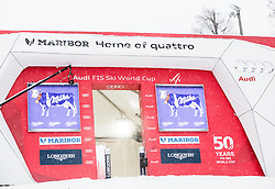 Start house prior to  the 6th Ladies'  Slalom at 53rd Golden Fox - Maribor of Audi FIS Ski World Cup 2016/17, on January 8, 2017 in Pohorje, Maribor, Slovenia. Photo by Vid Ponikvar / Sportida