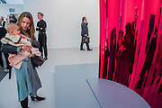 Anish Kapoor, Stave (Red) 2015, in the Lisson Gallery - Frieze London is one of the few fairs to focus only on contemporary art and living artists.It features more than 160 of the world's leading galleries selling art from over 1,000 of today's leading artists. The fair also includes Frieze Projects and Talks programmes and is open to the public 6-9 October.