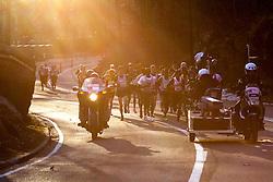 lead pack of elite men in Central Park