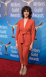 February 17, 2019 - Beverly Hills, California, U.S - Cami Delavignein in the red carpet of the 2019 Writers Guild Awards at the Beverly Hilton Hotel on Sunday February 17, 2019 in Beverly Hills, California. JAVIER ROJAS/PI (Credit Image: © Prensa Internacional via ZUMA Wire)