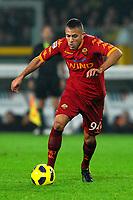 """Jeremy MENEZ Roma<br /> Torino 13/11/2010 Stadio """"Olimpico""""<br /> Campionato Italiano Serie A 2010/2011<br /> Juventus Vs Roma<br /> Foto Andrea Staccioli Insidefoto"""