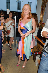 SARAH-JANE MEE at a party to celebrate the paperback lauch of The Stylist by Rosie Nixon hosted by Donna Ida at her store at 106 Draycott Avenue, London on 17th August 2016.