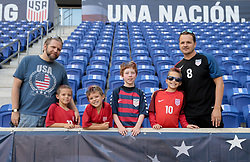 September 1, 2017 - Harrison, NJ, USA - Harrison, N.J. - Friday September 01, 2017: USA supporters during a 2017 FIFA World Cup Qualifying (WCQ) round match between the men's national teams of the United States (USA) and Costa Rica (CRC) at Red Bull Arena. (Credit Image: © John Dorton/ISIPhotos via ZUMA Wire)