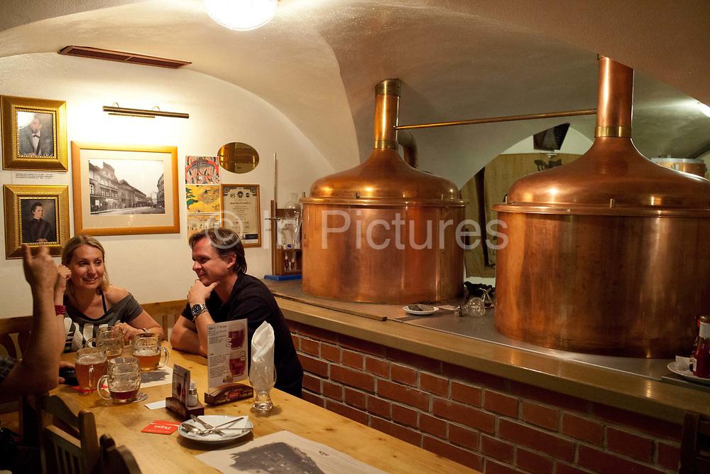 U Fleku bar and beer house; Prague, Czech Republic.
